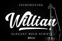 Willian - Elegant Bold Script