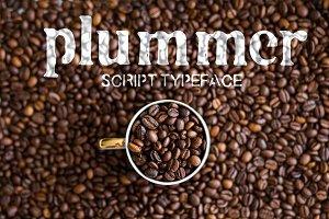 Plummer Script Typeface