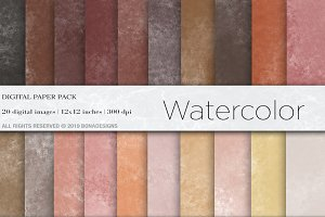 Watercolor Digital Papers,Background