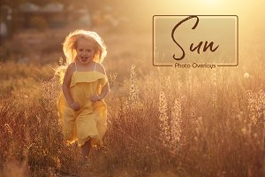 Sunlight Photo Overlays