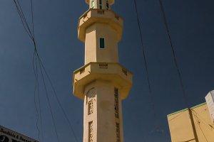 Mosque in Hargeisa, biggest city of
