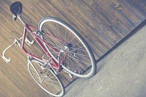 classic vintage racing bike