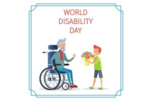 World Disability Day Boy Presents