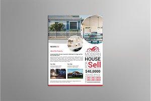 Real Estate Flyer Template -V04