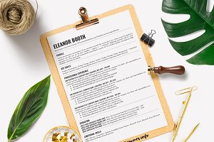 Simple Resume Template Google Docs
