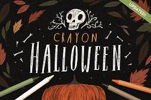 Crayon Halloween