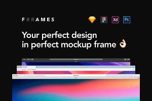 Frrames - Vector Window Mockups