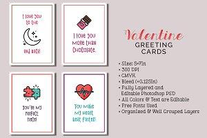 6 Valentine's Day Cards
