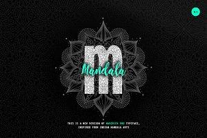 Maverick Mandala - Textured Typeface