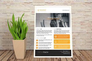 Clean & Pro Business Flyer Template