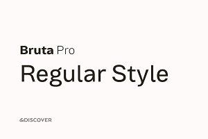 Bruta Pro Regular Style (Promotion)