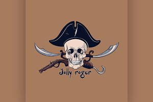 Label pirate theme