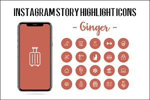 Instagram Story Highlight Icons