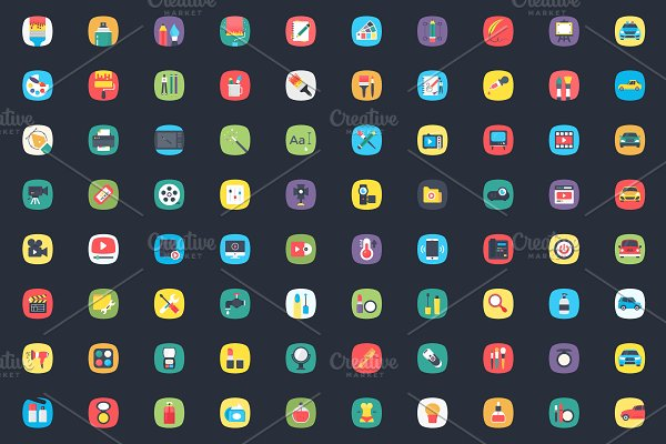 350+ Mobile App Launcher Icons