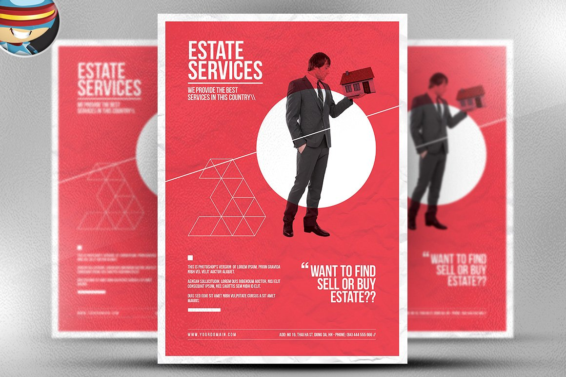 flyer heroes flyerheroes real estate flyer templates minimal real estate flyer template