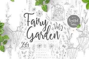 Fairy Garden 2 - Spring Terrarium