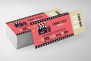 Cinema Ticket Print Templates