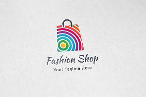 Fashion Shop - Logo Template