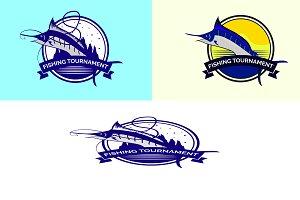 Fishing Tournament Badge
