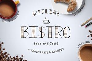 Bistro Sans & Serif + Vectors