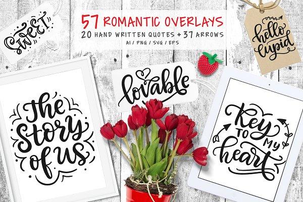 57 Valentine Quotes & Arrows Clipar…