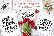 57 Valentine Quotes & Arrows Clipart