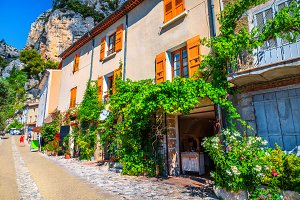 Street view in Provence