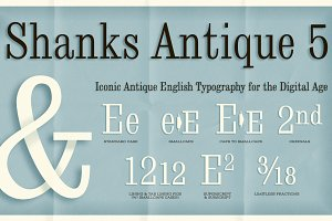 Shanks Antique 5 AOE Pro