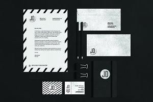 GLADIOLUS Stationary & Branding Kit