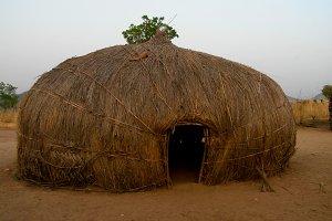 View to Wodaabe aka Mbororo tribe vi