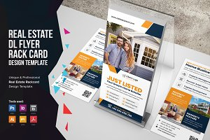 Real Estate Rack Card DL Flyer v1