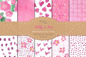 Pretty in Pink Decorative Paper Set