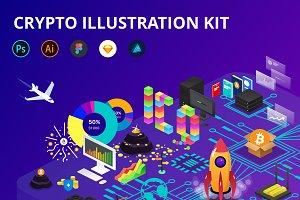 Crypto Illustration Kit