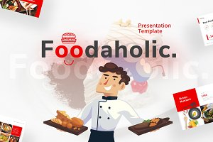 Foodaholic - Culinary Presentation