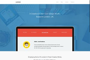 Lungo - Agency WordPress Theme