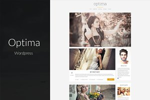 Optima - Clean & Clear Blog Theme