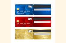 Vector Credit Card set