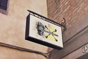 Venetian Lighted Signboard