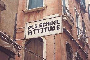 Venetian Old Signboard