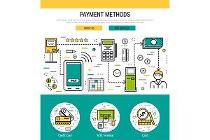 Header template - payment methods