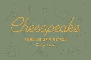 Chesapeake Script Font