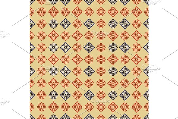 5e890f89021e00 Traditional Norway Style Seamless ~ Graphic Patterns ~ Creative Market