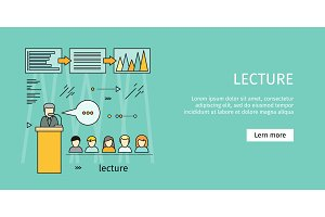 Business Lecture Banner.