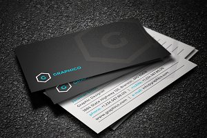 Simple Stylish Business Card - 32