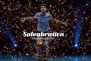Saleabration Photoshop Action