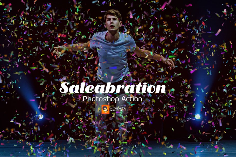 Saleabration Photoshop Action