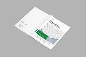 Corpora - A4 Company Brochure
