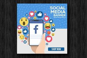 Multiuse Social Media Banners