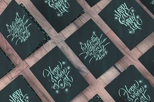 Cat`s Handmade letterings Collection