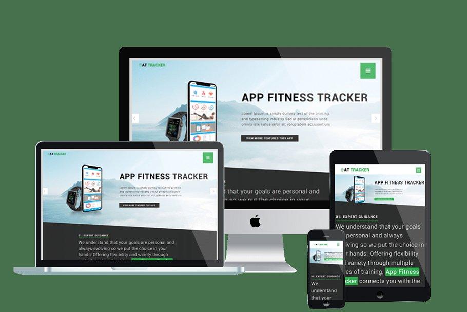 AT Tracker App Joomla Template